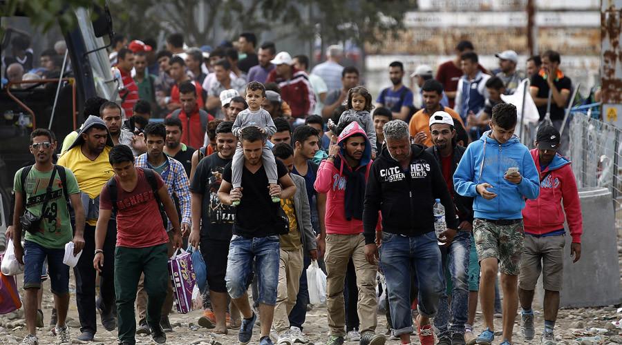 Некоторые беженцы не смогут попасть в США, хотя находятся в опасности. Фото: rt.com
