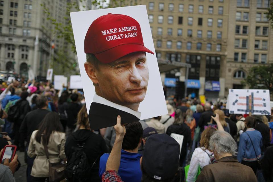 Трамп уверен, что не только Россия пыталась помешать честным выборам в США. Фото: bostonglobe.com