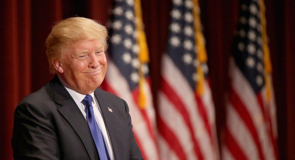 Дональд Трамп уверен, что может помиловать сам себя. Но так ли это на самом деле? Фото bykvu.com
