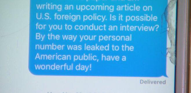 Сообщение Фишера. Фото: medialeaks.ru