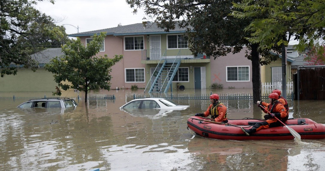 Наводнения могут затронуть сотни городов. Фото: earth-chronicles.com