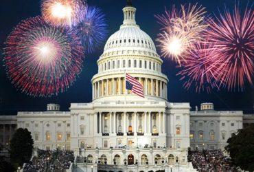 ФОТО: Как американцы поздравляют друг друга с Днем Независимости