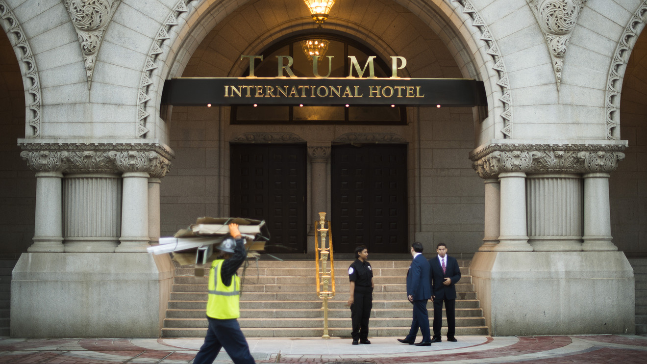 Trump Hotel в Вашингтоне. Фото: marketwatch.com