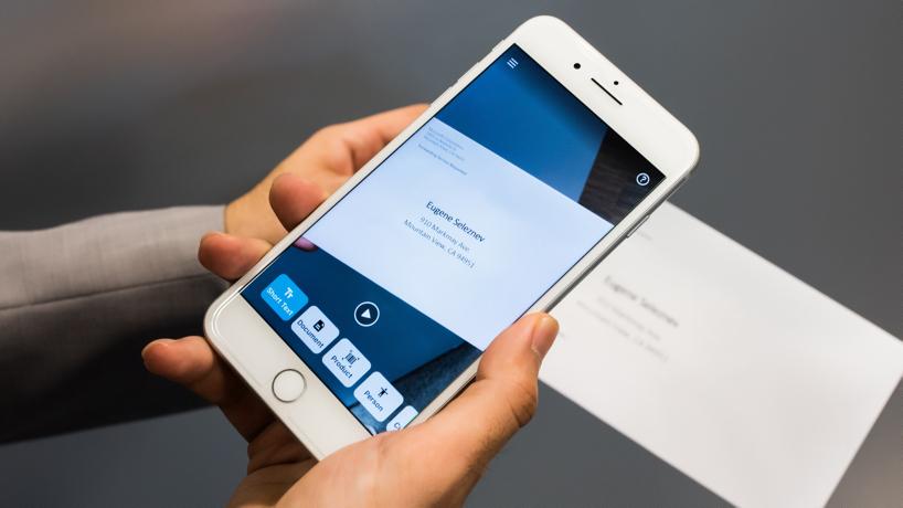 Приложение помогает распознать текст любой длины. Фото: microsoft.com