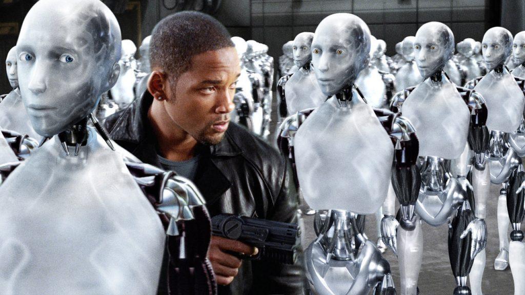 """Официально война с работами не началась, однако многие люди проиграли эту битву еще до ее начала. Фото - кадр из фильма """"Я - робот""""/kinopoisk.ru"""