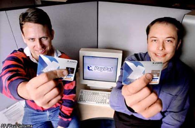 В 1990 года Маск создал платежную систему x.com. Фото: ibillionaire.me