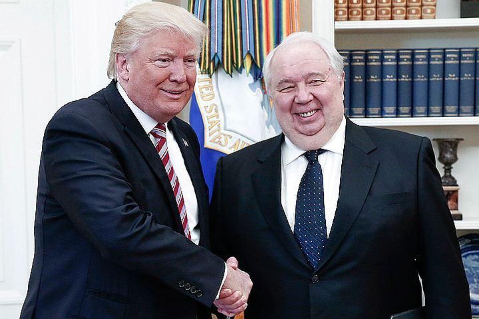 Дональд Трамп и Сергей Кисляк. Фото: crimea.kp.ru