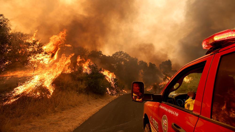 Пожар в Калифорнии. Фото: latimes.com