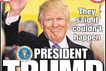 New York Post опубликовала статью про Трампа из трех слов