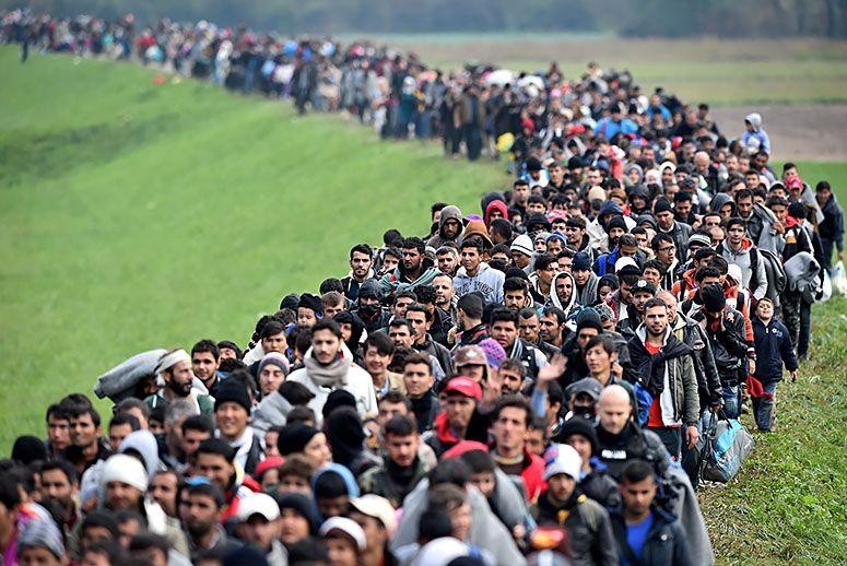 Ограничение заденет тысячи беженцев. Фото: takepart.com