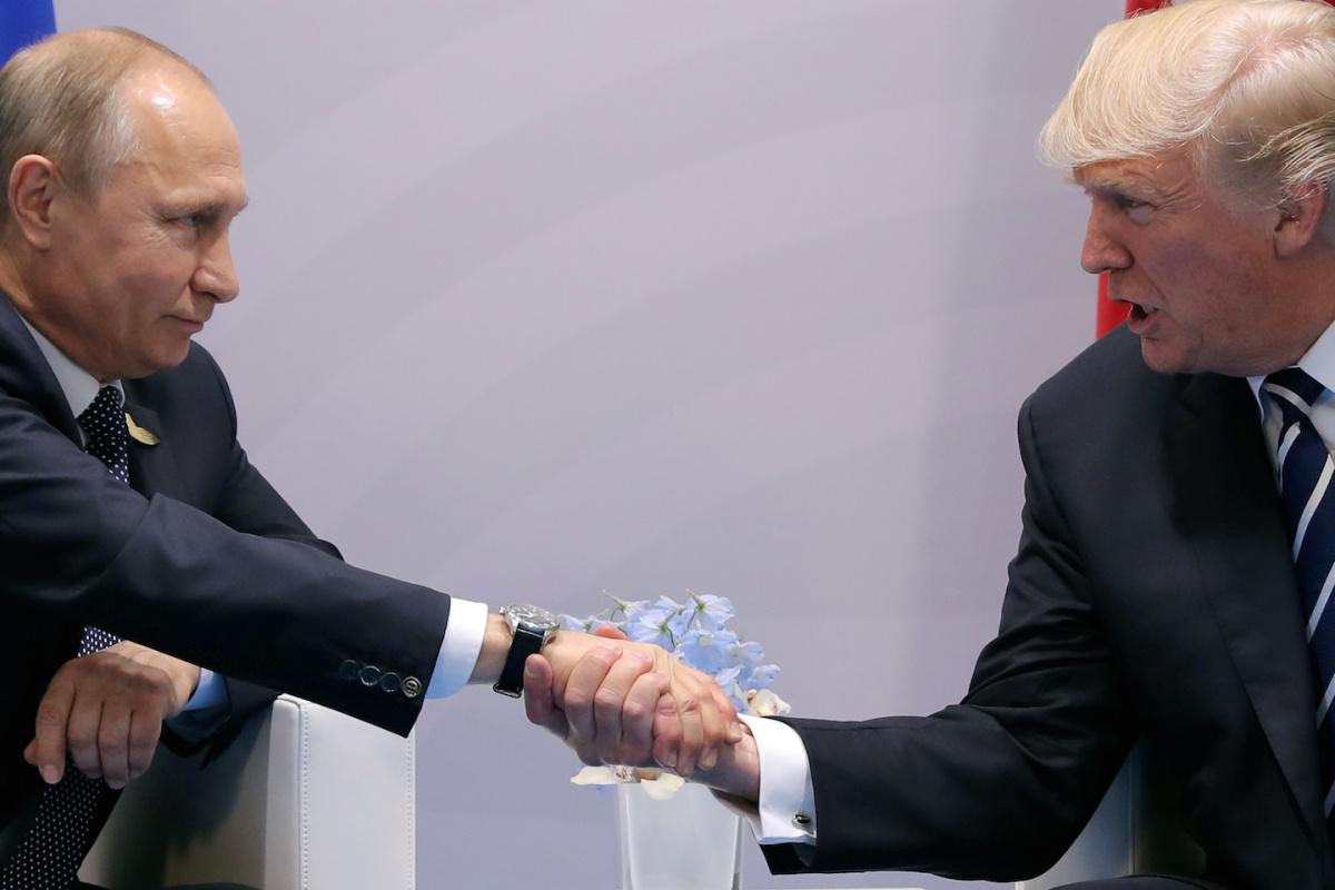 Трамп отрицал многие утверждения российких властей о встрече с Путиным. Фото: nationalinterest.org