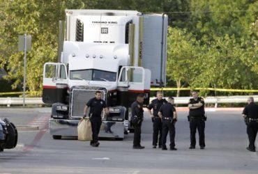 В Техасе найден грузовик с телами 8 нелегалов