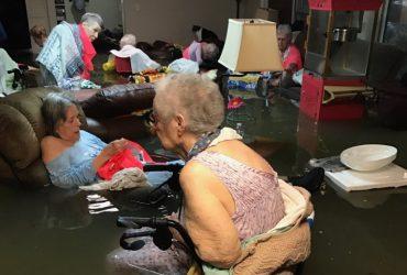 Дом престарелых спасли от урагана Харви благодаря фото в твиттере