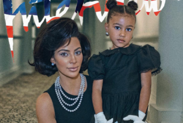 ФОТО: Ким Кардашьян снялась в образе Жаклин Кеннеди вместе с дочерью
