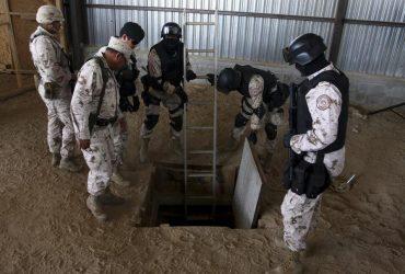 На границе нашли тайный ход из Мексики в США