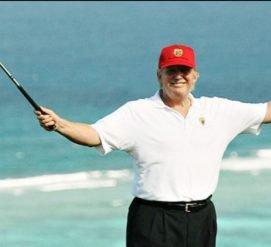 Дональд Трамп уходит в отпуск, хотя обещал работать