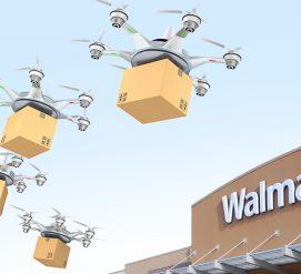Walmart запатентовали склад-дирижабль