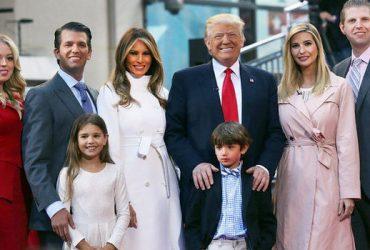 ФОТО: Трамп в девятый раз стал дедушкой