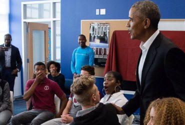 Барак Обама заглянул в вашингтонскую школу и шокировал учеников (ВИДЕО)