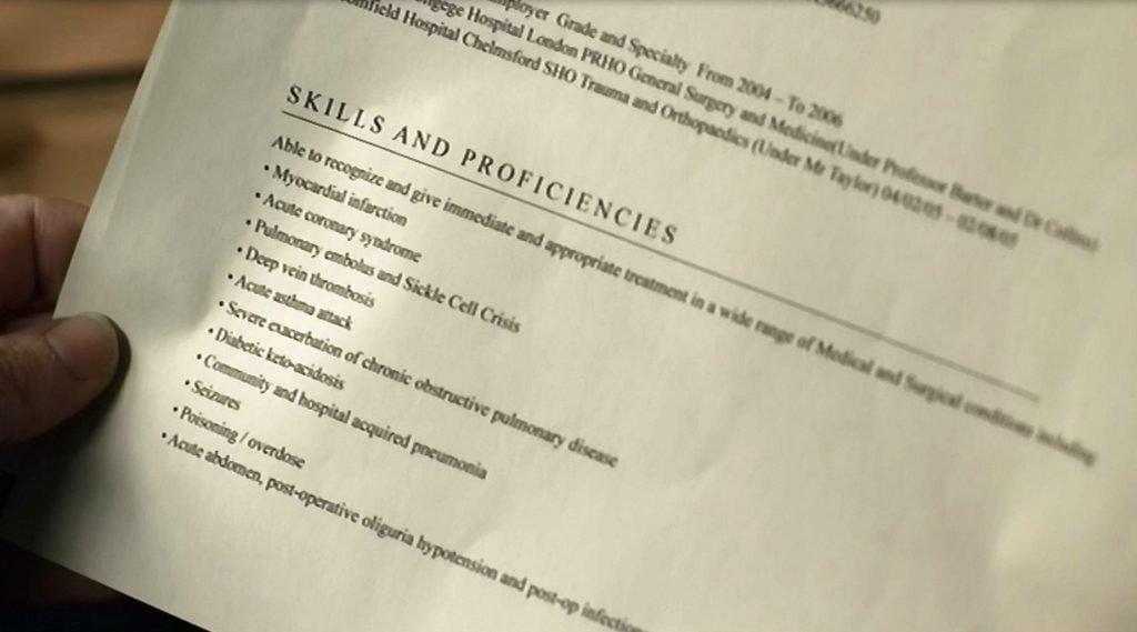 resume accounting skills list