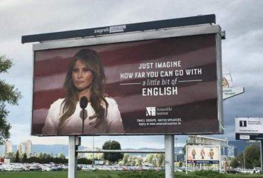 Мелания Трамп пригрозила судом за билборды со своим фото