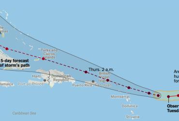 Как спастись от урагана Ирма: чем запасаться, куда бежать, где следить за развитием