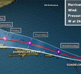 ВИДЕО: Ураган Ирма обрушился на Карибские острова