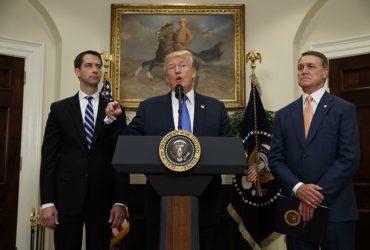 Трамп выступил против «цепной миграции»