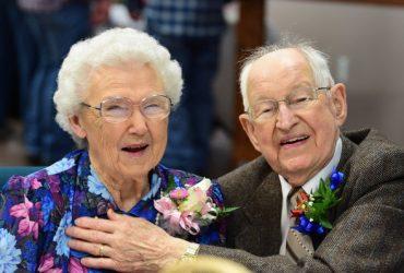 Харви и Ирма, которые приносят счастье: женатая 75 лет пара удивлена совпадением имен
