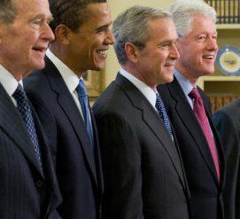 ВИДЕО: Бывшие президенты США объединились, чтобы помочь жертвам ураганов