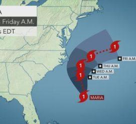Какие штаты заденет ураган Мария и стоит ли его бояться