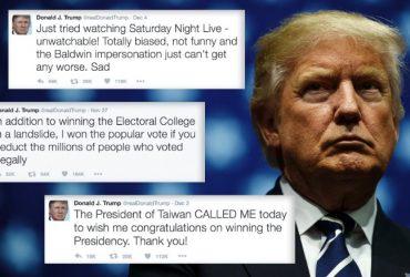Трамп: мои твиты побуждают чиновников «делать то, что они должны делать»