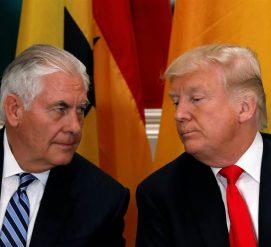 Разногласия в Белом доме: Тиллерсон назвал Трампа «придурком» и хотел уйти в отставку