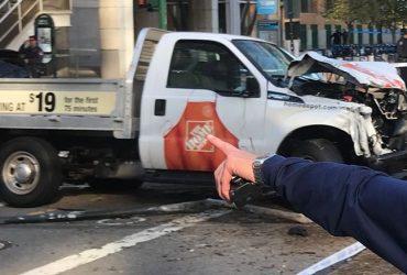 Фургон врезался в прохожих на Манхэттене. Погибло 6 человек