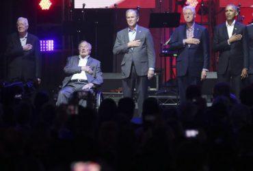 Пятеро экс-президентов США собрали на благотворительном концерте $31 миллион