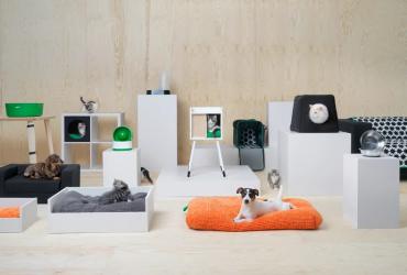 ФОТО: IKEA выпустила стильную коллекцию мебели для домашних животных