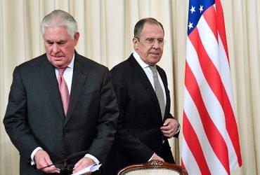 Лавров рассказал Тиллерсону об исках России против США