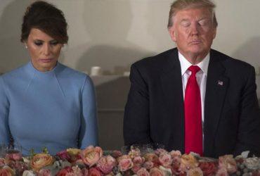 Двойник Мелании: Трампа обвиняют в подмене жены