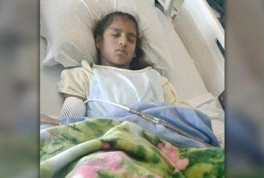 Иммиграционная полиция задержала 10-летнюю нелегалку сразу после тяжелой операции