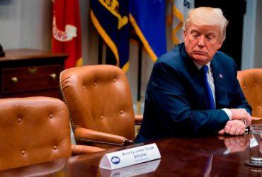 Лидеры демократов не пришли на встречу с Трампом по налоговой реформе