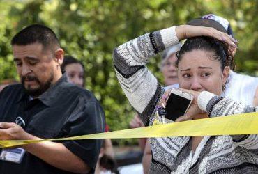 Неизвестный устроил стрельбу возле начальной школы в Калифорнии