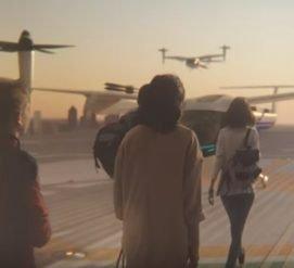 Uber и NASA объединились для создания летающих такси