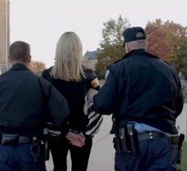 Украинскую активистку арестовали на «Концерте за единство» в Вашингтоне