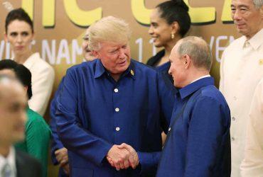 Трамп увиделся с Путиным на саммите во Вьетнаме