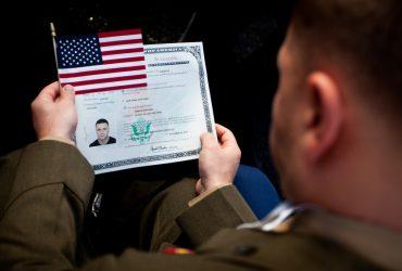 В День ветеранов 1 600 иммигрантов станут гражданами США