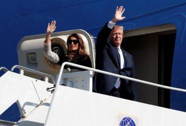 Гольф, саммиты и встреча с Путиным: Трамп начал тур по странам Азии