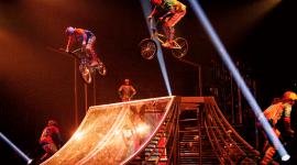 Выступление Cirque du Soleil