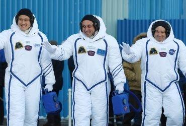 Россиянин, американец и японец вылетели на Международную космическую станцию