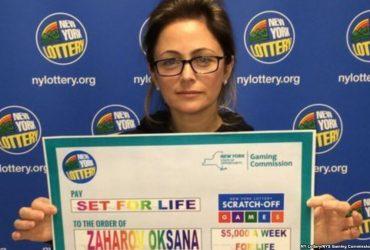 Украинка выиграла $5 миллионов в американскую лотерею