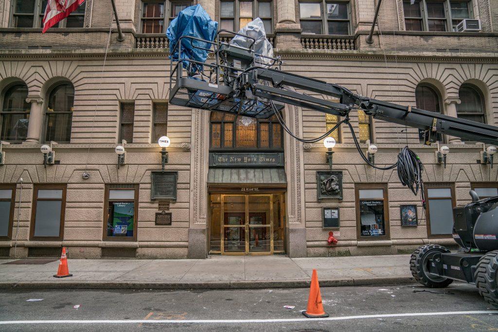 Почему в Нью-Йорке снимают много фильмов + места съемок